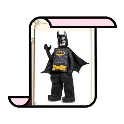 萬聖節 樂高蝙蝠俠裝