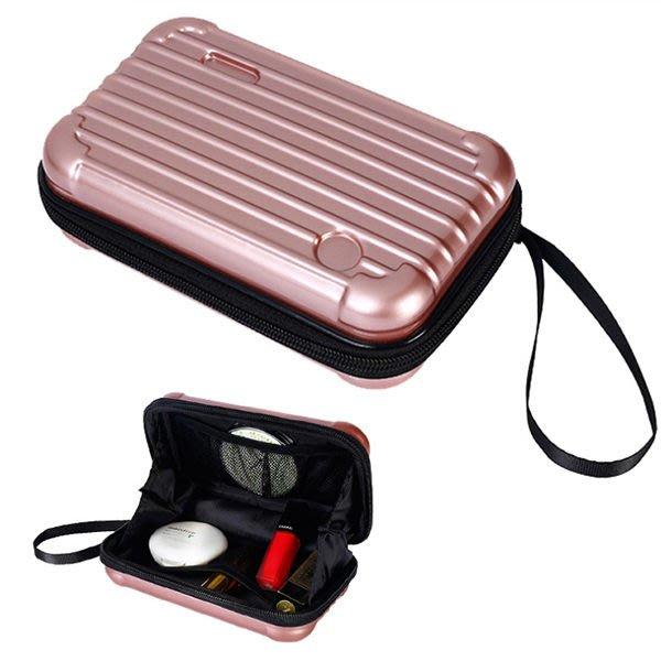 旅行簡約手提式 化妝包 收納包 行李箱 5款可選【庫奇小舖】【S381】