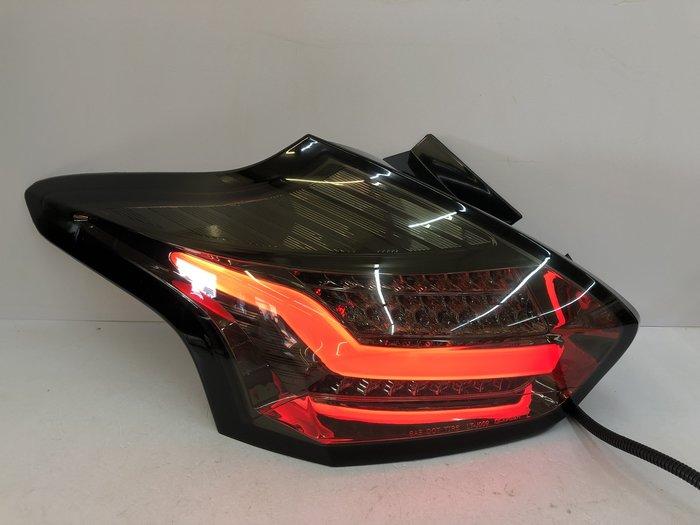 【炬霸科技】FOCUS 福克斯 全 LED 導光 尾燈 後燈 15 16 17 18 5D 燻黑 光柱 光導 MK3.5