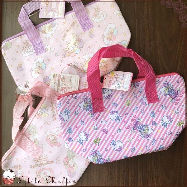 日本 輕量保溫保冷袋 HELLO KITTY/MY MELODY/kikilala 美樂蒂/雙子星/凱蒂貓