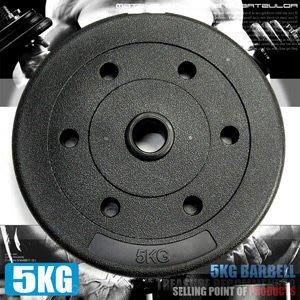 槓片5KG水泥槓片(單片5公斤槓片.啞鈴片.槓鈴片.舉重量訓練.運動健身器材專賣店哪裡買C113-B2050【推薦+】