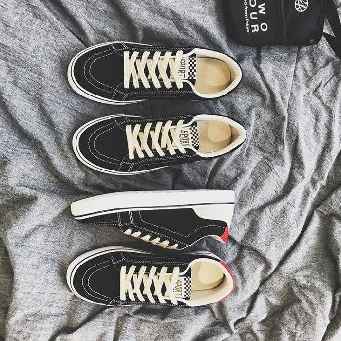 帆布鞋—夏季透氣男鞋帆布鞋韓版潮流百搭學生鞋子男士休閒鞋板鞋布鞋潮鞋