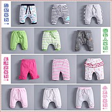 貝克比比屋☆夏天mom and bab 超可愛滴三件組短褲/中褲*6m、9m、12m、18m、24m、3T、4T