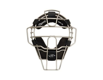 DIAMOND BIG LEAGUE ALUMINUM UMPIRE MASK WITH LEATHER 棒壘球主審面罩