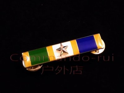 美國紐約 嘉獎或誠信嘉獎/Commendation Integrity金屬勛略/徽章