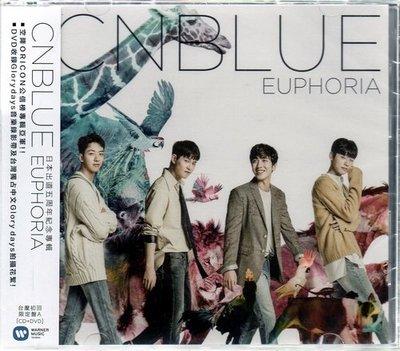 *【正價品】CNBLUE / EUPHORIA ~ CD+DVD、台壓初回限定A盤