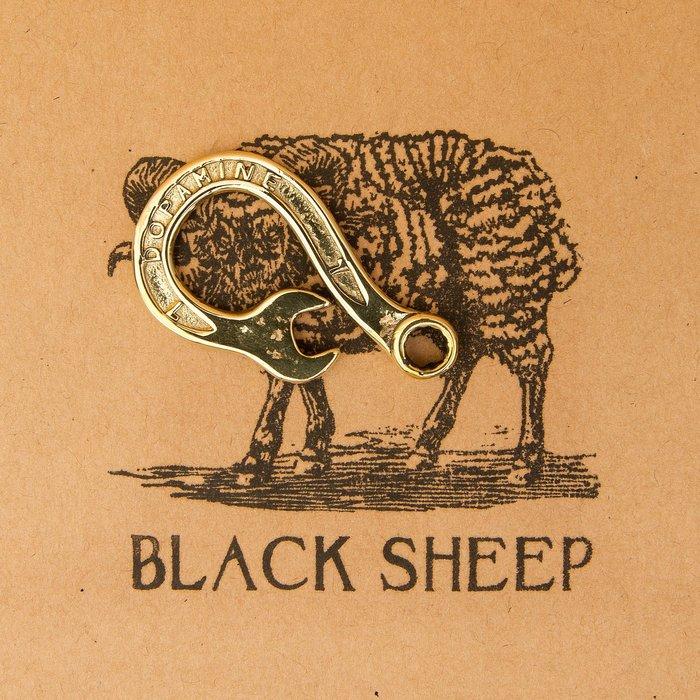 黑羊選物 板手鑰匙圈 黃銅 手感扎實 適合送禮 小物 潮流 復古 老味 重機 哈雷 養牛 鑰匙圈