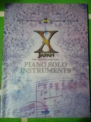 PIANO SOLO INSTRUMENTS 琴譜+CD 日本出版