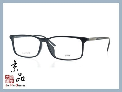 【Gucci】GG 1048 /F GVJ 亮黑色框 光學眼鏡 公司貨 JPG 京品眼鏡