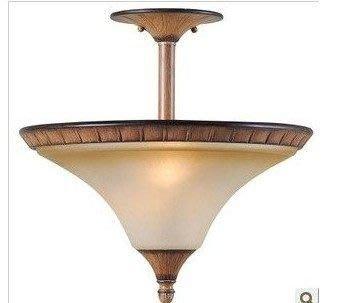 歐美燈飾原單最半吸頂燈玻璃燈罩