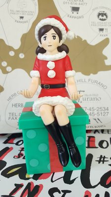 【呼嘎小舖 HY GGE】現貨 7-11 CITY CAFE 節慶主題杯緣子 大公仔 (聖誕款)