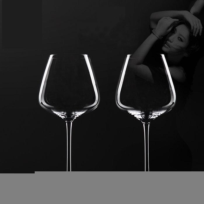 葡萄酒紅酒玻璃酒杯家用商用醒酒器分酒器套裝無鉛水晶透亮高腳杯