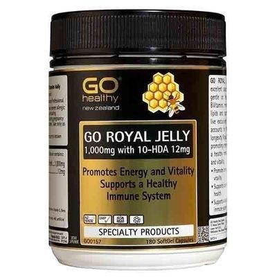 紐西蘭 高之源 蜂王乳 蜂王漿 180粒 1000mg Go Healthy royal jelly 正品直航運送