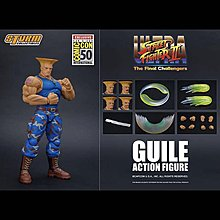 全新現貨 Storm Collectibles Street Fighter : Guile 軍佬  Sdcc 2019
