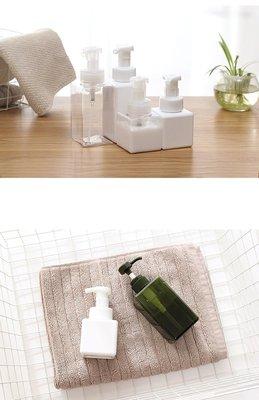 慕斯瓶 250ML 無印良品款高質感起泡瓶 打泡瓶 發泡瓶 四方分裝瓶 (4款)