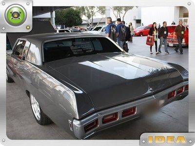 泰山美研社 D4693 1969 Chevy Camaro SS 車款 後下巴 客製改裝