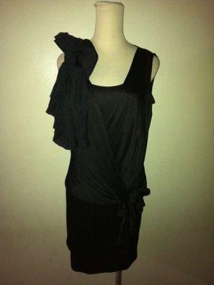 iROO 黑色造型連身裙/晚宴服(16)