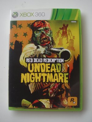 XBOX360 碧血狂殺:鬼怪夢魘 英文版 Red Dead Redemption:Undead Nightmare