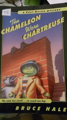 a chet gecko mystery the chameleon wore chartreuse bruce hal