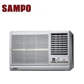 【鳳山3C家電館】含標準按裝 34500SAMPO 【聲寶 8-10 坪右吹變頻窗型冷氣 AW-PC50D】