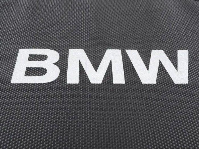 【樂駒】BMW 原廠 生活 精品 後車廂 置物盒 收納盒 防滑 黑邊 LOGO 周邊 車用 手提 防撞
