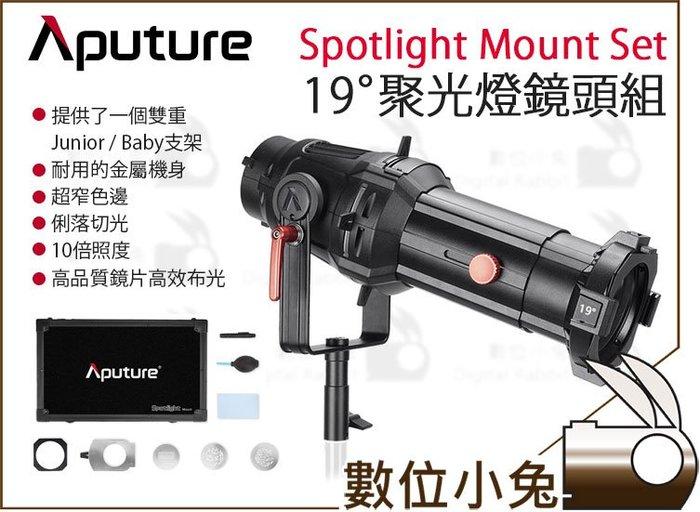 數位小兔【Aputure 愛圖仕 19° 聚光燈鏡頭組 Spotlight Mount Set】19度 聚光燈 公司貨