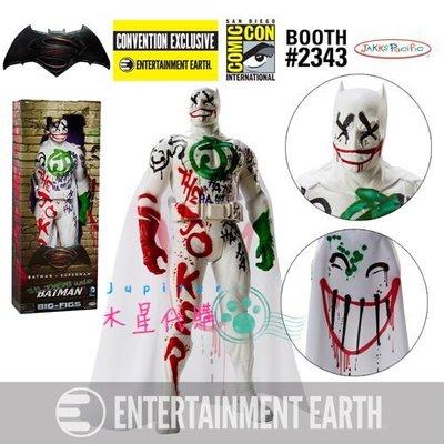 【木星代購】《美國代購 DC 聖地亞哥動漫展 Jakks pacific 小丑偽裝蝙蝠俠 公仔 20吋 限定 預購》