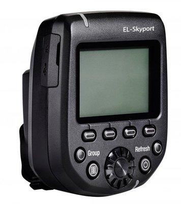 【EC數位】 19367愛玲瓏 Elinchrom Skyport Plus HS 發射器 高速無線 for Nikon