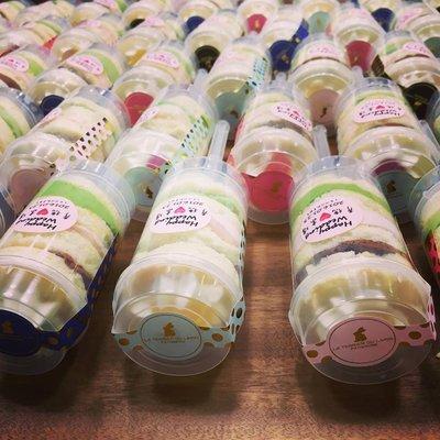 白兔洞甜點實驗室-彩虹推蛋糕婚禮小物/送客禮/捧花禮/二次進場/伴手禮/探房姊妹禮/candy bar