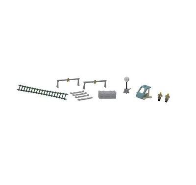 [玩具共和國] TOMYTEC 265290 情景小物127 軌道維護配件套裝