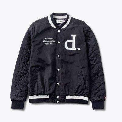 [WESTYLE] Diamond Supply Co Un-Polo Varsity Jacket 深藍夾克 棒球外套