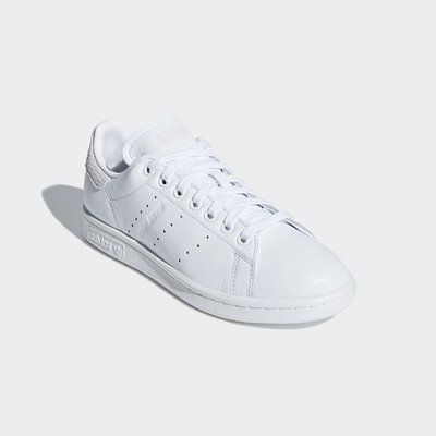 # ADIDAS ORIGINALS STAN SMITH W 白粉 史密斯 休閒 慢跑鞋 女鞋 B41625 YTS
