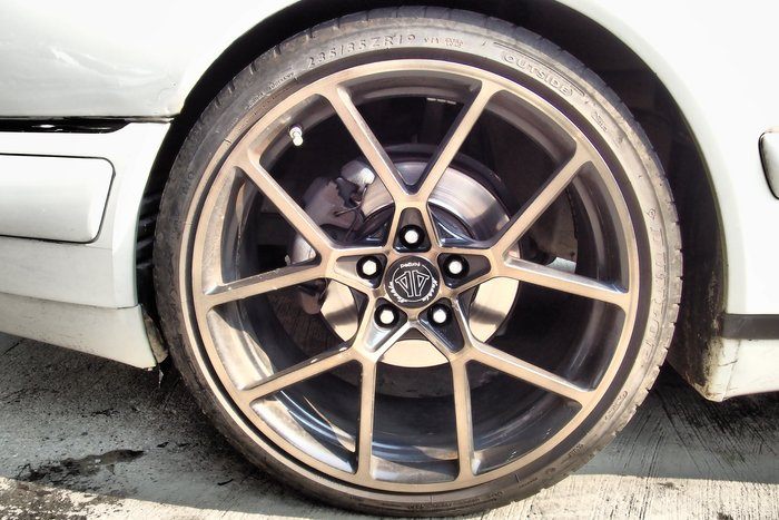 DJD19041014 BENZ W210 E320 Nashin 世盟 單片式 鍛造 鋁圈 19吋