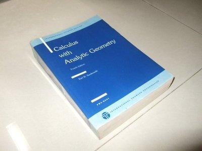 古集二手書17 ~Calculus with analytic geometry 4/e 0534098959