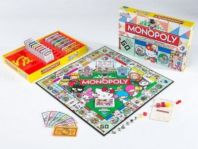 全新2015 Sanrio x Hello Kitty Game Master 會場限定版大富翁 Monopoly