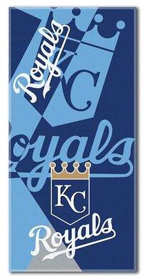 [現貨]美國大聯盟MLB沙灘巾 超大浴巾 堪薩斯城皇家Kansas City Royals職業棒球聯盟 游泳運動健身打球