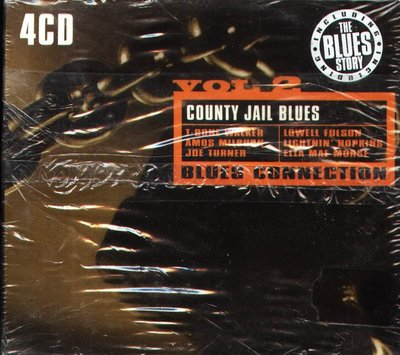 K - Blues Connection VOL.2 County Jail Blues - 4 CD - NEW