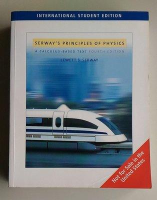 【書香傳富】SERWAY'S PRINCIPLES OF PHYSICS 4/E-普通物理---9成以上新
