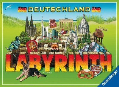 骰子人桌遊-(免運)百變迷宮 德國版Master Labyrinth Deutschland