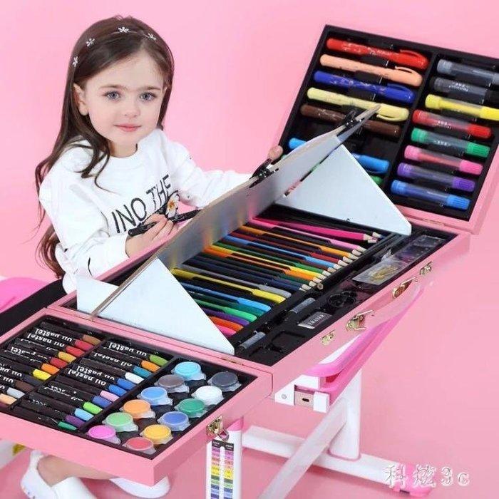 幼兒園兒童生日節禮物水洗無毒畫筆蠟筆油畫棒水彩筆學生畫畫套裝 js3463