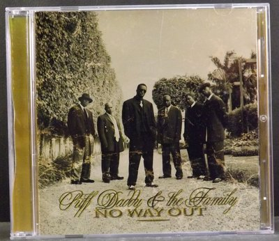 CD PUFF DADDY & THE FAMILY-NO WAY OUT~10DK15C05~