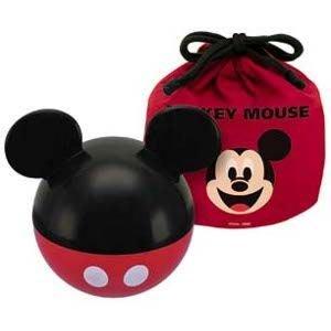 現貨不必等 迪士尼 米奇 立體造型 便當盒 餐盒 附束口袋 4973307146855 c
