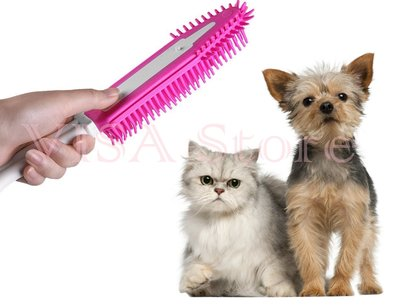 Cleaning & Grooming Brush神奇寵物梳 神奇寵物去毛刷 寵物除毛刷  神奇除毛梳 狗毛 貓毛 寵物