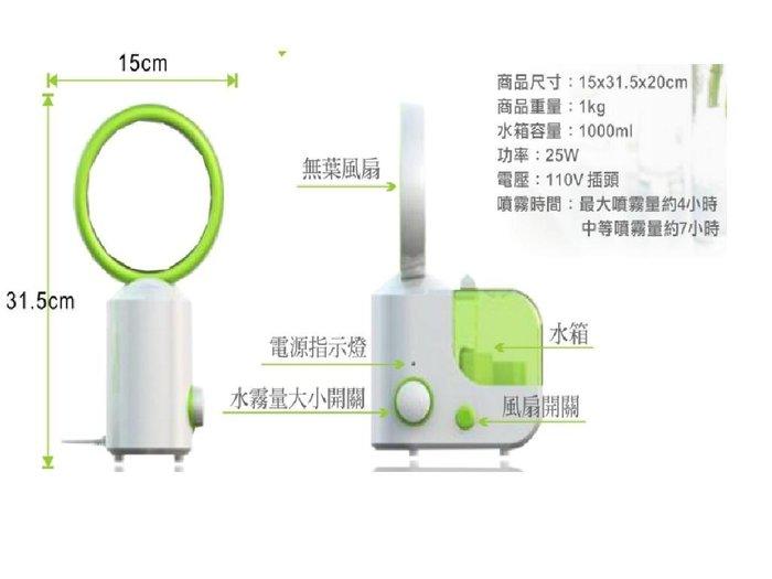 AC110V風扇加濕器