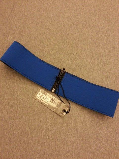 香港品牌IZZUE女腰帶藍色