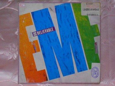 【采葳音樂網】-其他黑膠–〝E.M.F.-UNBELIEVABLE〞 其081