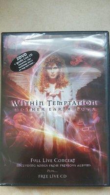 歐版 Within Temptation Mother Earth Tour 2DVD+1CD (DVD為PAL系統)