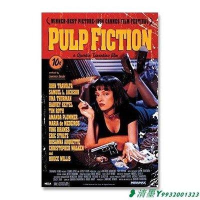 百貨*低俗小說 旁白原版電影海報 Pulp Fiction 昆汀塔倫蒂諾 美國進口