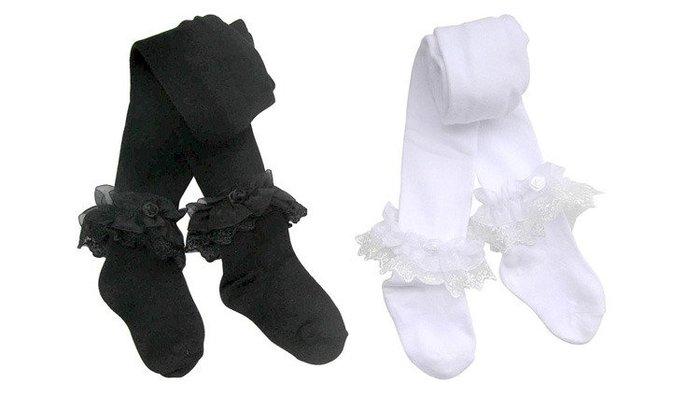 【瑜瑜小屋】韓版《經典黑白款》百搭保暖褲襪 (L2-1)