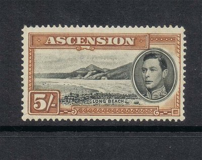 【雲品】阿森松島Ascension Island 1938 KGV SG 46 MNH